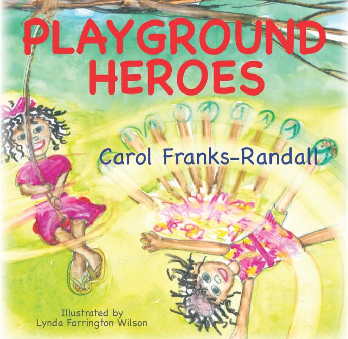 playground heroes postcard